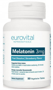 EUROVITAL Melatonin 5 мг FAST DISSOLVE (50 таб)