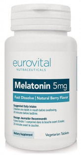 EUROVITAL Melatonin 3 мг FAST DISSOLVE (50 таб)