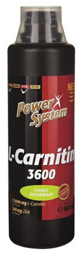 Power System L-Carnitine 3600 144000мг (1000 мл)