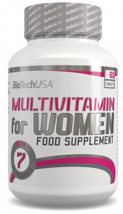 BioTech Multivitamin FOR WOMEN (60 tab)