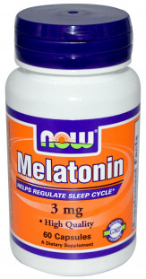 NOW Melatonin 5 мг (60 кап)